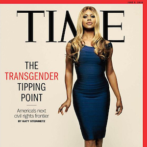 Laverne Cox is featured on the cover of TIME